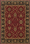 Oriental Weavers Knightsbridge 282R5 Red Closeout Area Rug