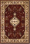 Couristan Anatolia 2871/0782 Tribal Diamond Red/Cream Closeout Area Rug - Spring 2017