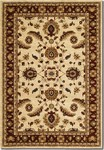 Couristan Anatolia 2872/0788 Floral Heriz Cream/Red Closeout Area Rug - Spring 2017