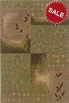 Oriental Weavers Nexus 306A1 Green Closeout Area Rug