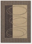 Couristan Five Seasons 3071/0112 Boulder Brown/Cream Closeout Area Rug - Spring 2015