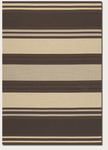 Couristan Five Seasons 3071/4702 South Padre Chocolate/Cream Closeout Area Rug - Spring 2015