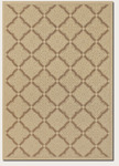 Couristan Five Seasons 3077/0019 Sorrento Cream/Gold Closeout Area Rug - Spring 2016