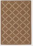 Couristan Five Seasons 3077/0029 Sorrento Gold/Cream Closeout Area Rug - Spring 2016