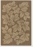 Couristan Five Seasons 3079/0029 Rio Mar Gold/Cream Closeout Area Rug - Spring 2011