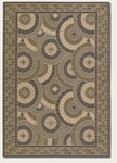 Couristan Five Seasons 3084/1130 Sundial Cream/Green Closeout Area Rug