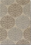 Couristan Five Seasons 3089/1863 Montecito Cream/Sky Blue Closeout Area Rug - Spring 2016