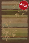 Oriental Weavers Nexus 309A1 Green Closeout Area Rug