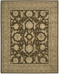 Nourison 3000 3101 BRN Brown Closeout Area Rug