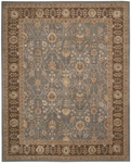 Nourison 3000 3102 LTB Light Blue Closeout Area Rug