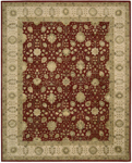 Nourison 3000 3102 RED Red Closeout Area Rug