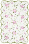 Rug Market Kids Floral 31033 Sweet Rose Pink/Green Area Rug