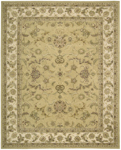 Nourison 3000 3104 YEL Yellow Closeout Area Rug