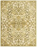 Feizy Saphir Mah 3109F Cream/Spa Blue Closeout Area Rug