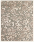 Feizy Saphir Zam 3112F Pewter/Grey Closeout Area Rug