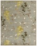 Feizy Saphir Mah 3113F Pewter/Sage Closeout Area Rug