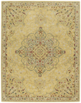 Capel Izmir 3156-100 Medallion Gold Area Rug