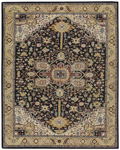 Capel Izmir 3158-350 Serapi Black Gold Area Rug