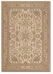 Couristan Samarra 3165/0191 Kashan Medallion Cream Closeout Area Rug