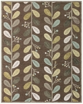 Feizy Saphir Mah 3188F Coffee/Sage Closeout Area Rug
