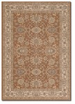Couristan Samarra 3191/0311 Royal Herati Terra-Cotta Closeout Area Rug
