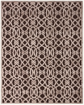 Feizy Saphir Zam 3202F Dark Chocolate/Grey Closeout Area Rug