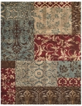 Feizy Rivington 3237F MLT Multi Closeout Area Rug