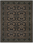Feizy Starnes 3244F NVY Navy Closeout Area Rug