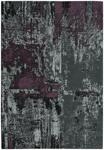 Capel Cosmic 3245-330 Abstract Grey Purple Area Rug