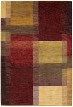 Couristan Chobi 3312/0625 Matisse Red/Multi Closeout Area Rug