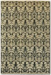 Couristan Chobi 3338/1228 All Over Damask Black/Ivory Closeout Area Rug - Spring 2011