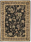 Couristan Chobi 3344/0098 Plumage Midnight/Crme Closeout Area Rug - Spring 2011