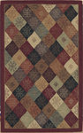 Shaw Living Nexus Kurdish Panel N0111 Red Closeout Area Rug - 2014