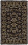 Shaw Living Nexus Kashan N0135 Black Closeout Area Rug