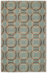 Capel Graphique 3390-200 Ringlets Seaglass Area Rug