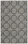 Capel Graphique 3390-300 Ringlets Pewter Area Rug