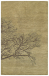 Capel Graphique 3391-225 Shadow Branch Moss Area Rug