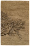 Capel Graphique 3391-775 Shadow Branch Bark Area Rug