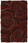 Shaw Living Structure Florabundance N0213 Merlot Closeout Area Rug - 2014