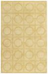 Capel Orchard House 3399-150 Rings Maize Closeout Area Rug