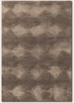 Couristan Focal Point 3470/6277 Precision Mocha Closeout Area Rug