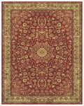 Feizy Sebastian 3655F Red/Dark Gold Closeout Area Rug