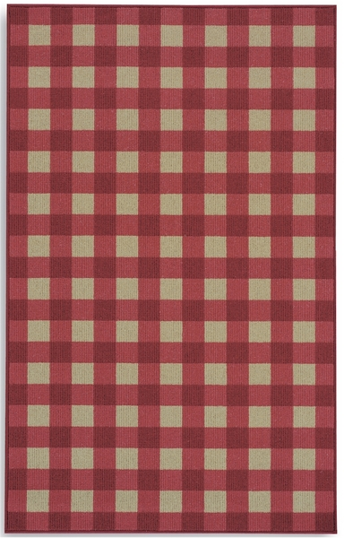 Rugs A Bounds 357 29030 Red Check