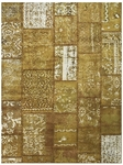 Feizy Broderie 3622F CHOLBN Chocolate Light Brown Closeout Area Rug