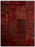 Feizy Broderie 3622F CFERST Coffee Rust Closeout Area Rug