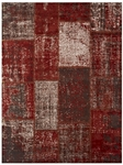 Feizy Broderie 3622F REDRED Red Red Closeout Area Rug
