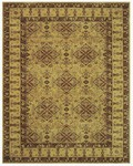 Feizy Sebastian 3652F Dark Gold Closeout Area Rug