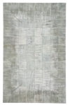 Capel Laramie 3675-320 Brushed Blocks Pewter Area Rug