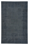 Capel Laramie 3675-350 Brushed Blocks Midnight Area Rug