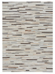 Capel Laramie 3677-375 Braided Stripe Grey Multi Area Rug